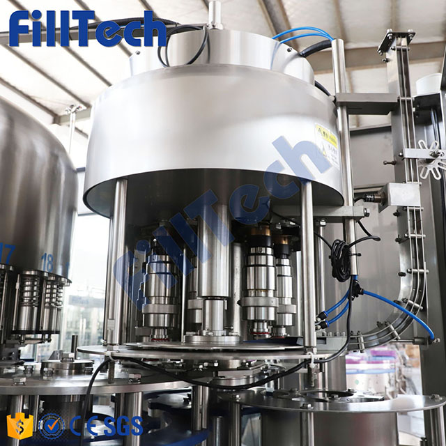 10000 Bottles Per Hour Water Filling Machine